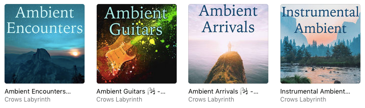 Crows Labyrinth's Artist Playlists on Apple Music