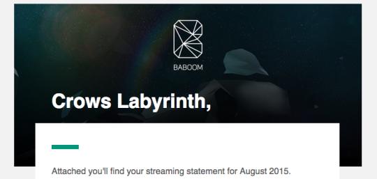 Baboom statement header