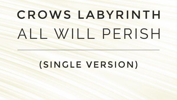 All Will Perish (Single Version) - Cover Art